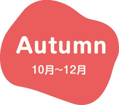 Autumn 10月~12月